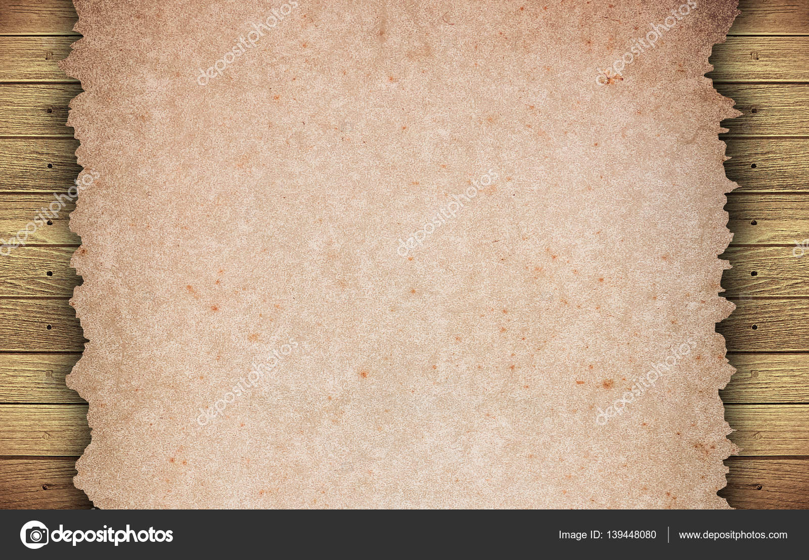 Old Grunge Paper Texture Background Stock Photo