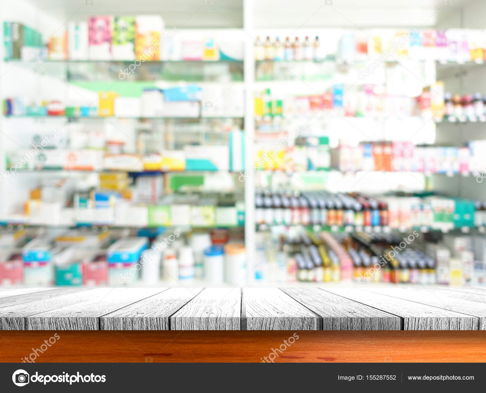 close up pharmacy shop background stock photo thawornnulove 155287552. Black Bedroom Furniture Sets. Home Design Ideas