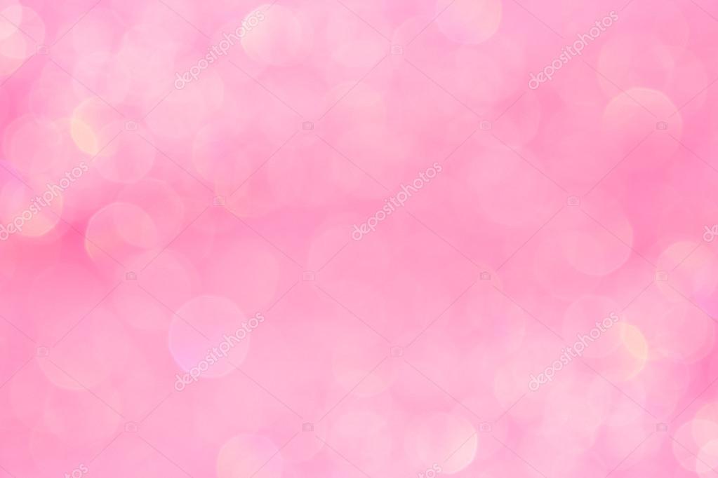Bokeh Suave Fondo Rosa Pastel