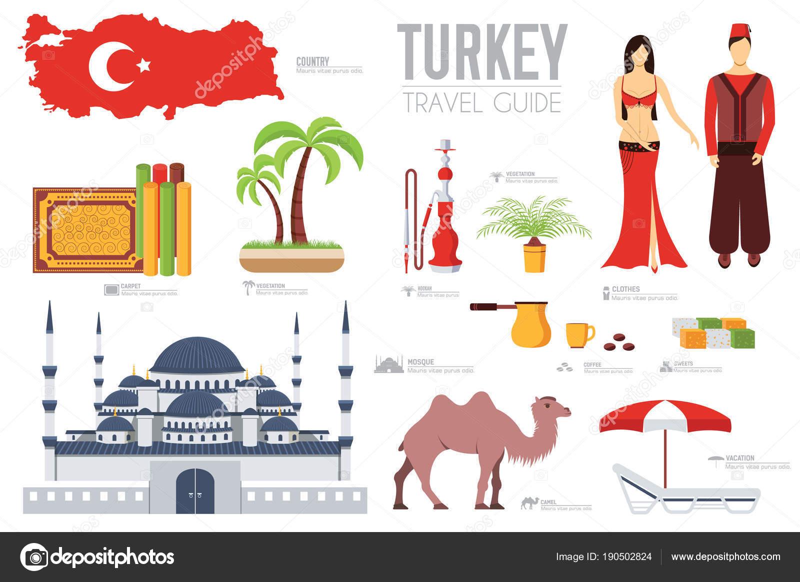 Land Türkei Reisen Urlaub Führung von Waren, Orte und Funktionen ...