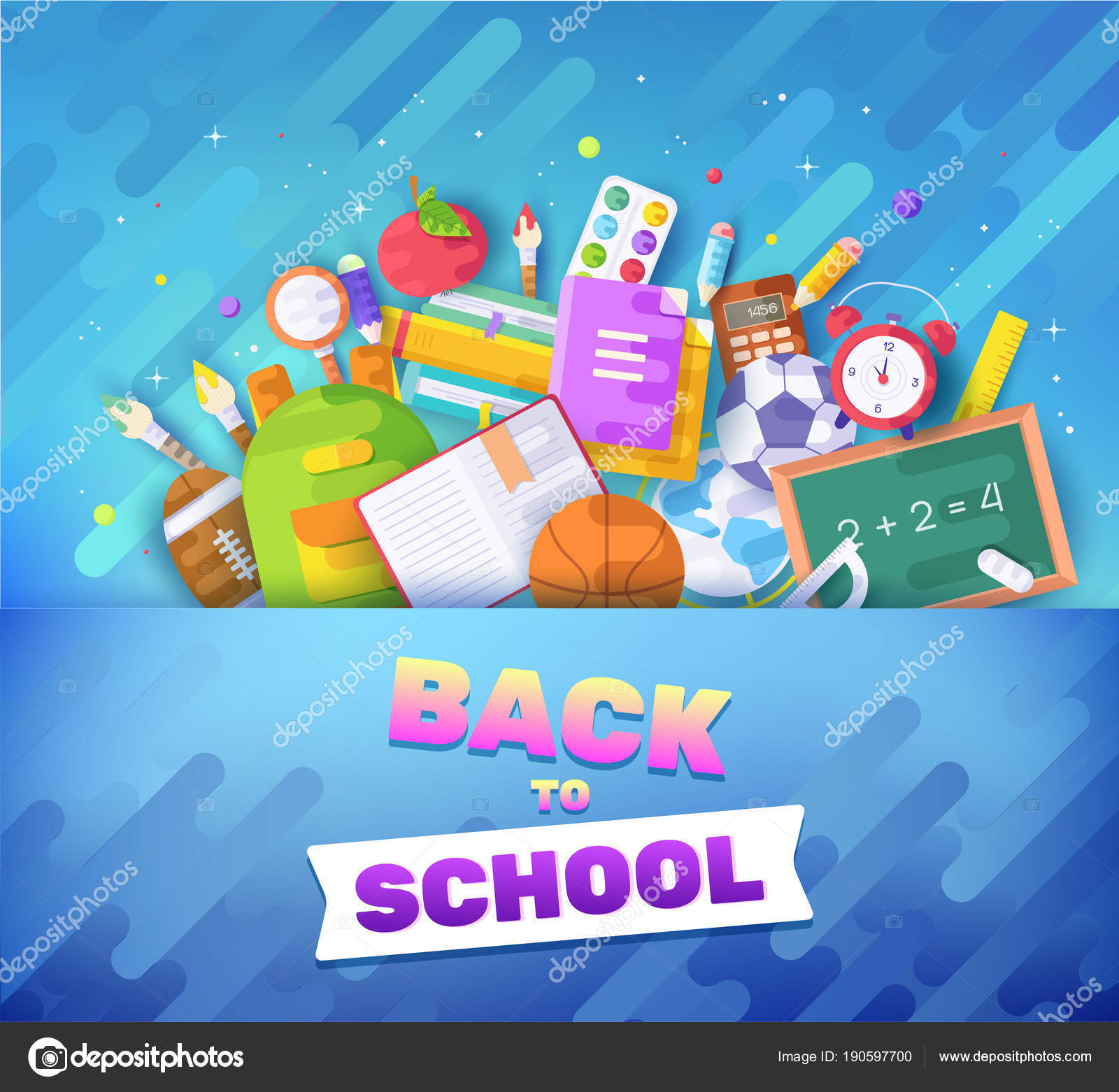 Zurück zu Schule Informationen Karten. Student-Vorlage von Flyear ...