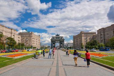 Triumphal gate On Kutuzov Avenue