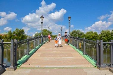 Park Tsaritsyno summer time