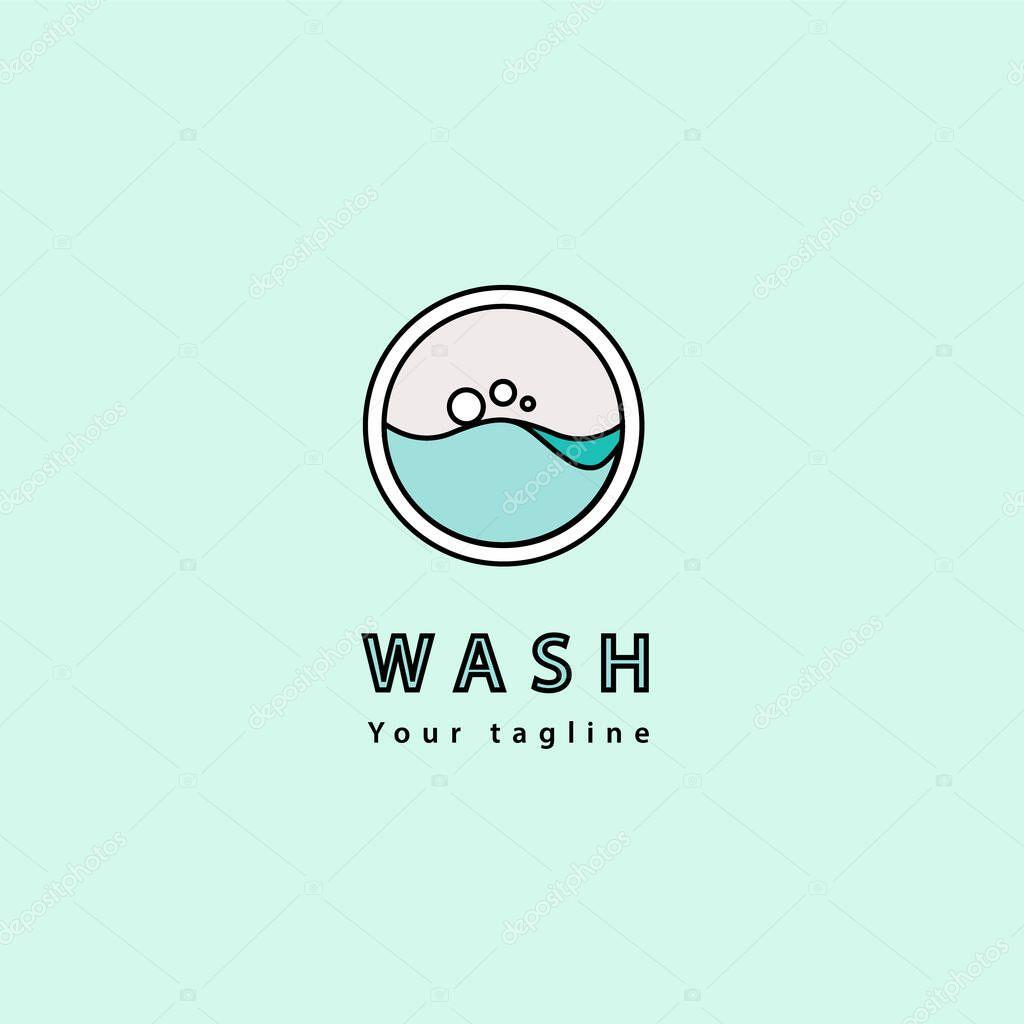 logo laundry logo template design for your business premium vector in adobe illustrator ai ai format encapsulated postscript eps eps format logo laundry logo template design for