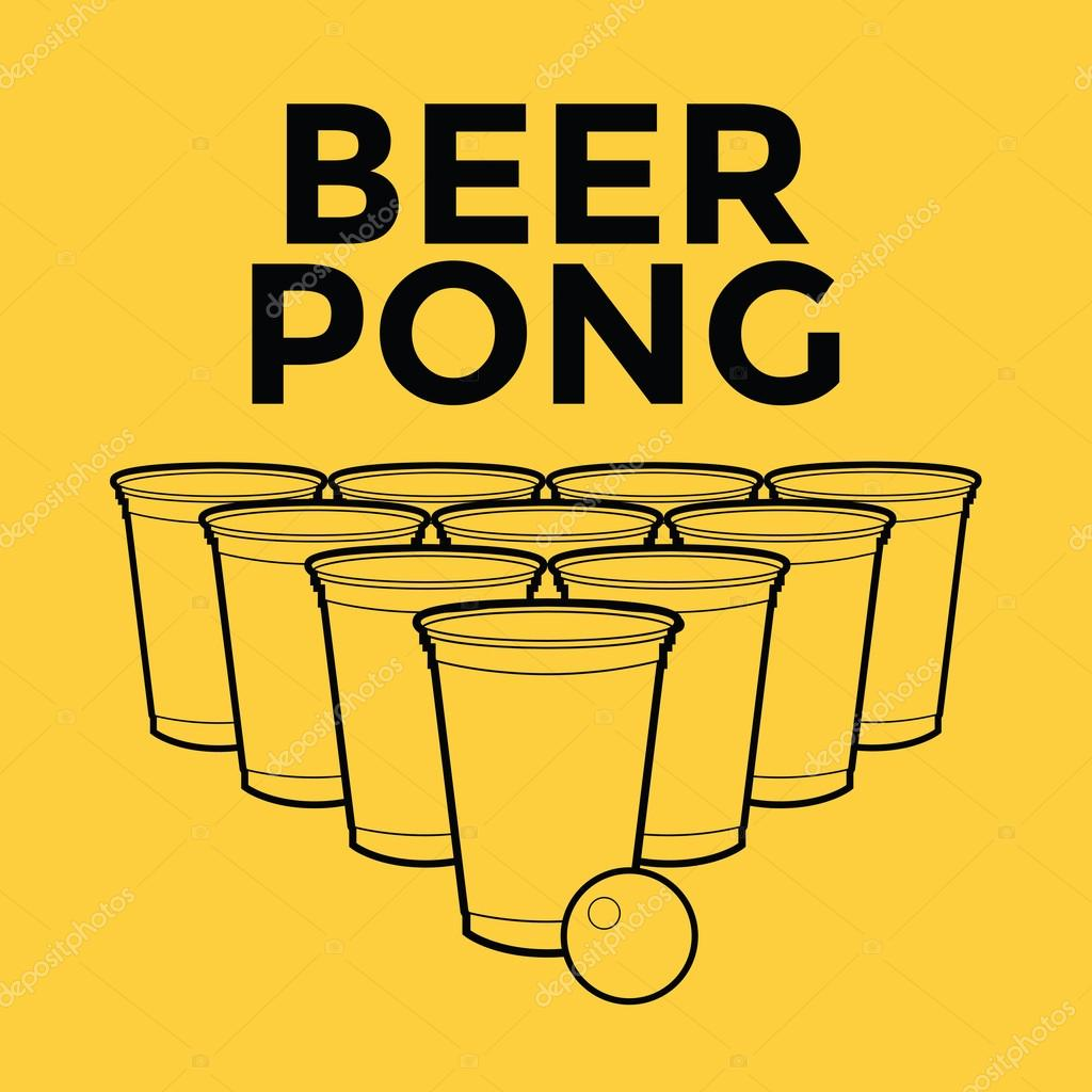 ᐈ Beer Pong Rules Poster Stock Vectors Royalty Free Throw Open Illustrations Download On Depositphotos