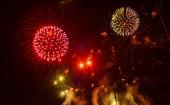 Tűzijáték Prágában
