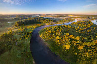 Belarusian river