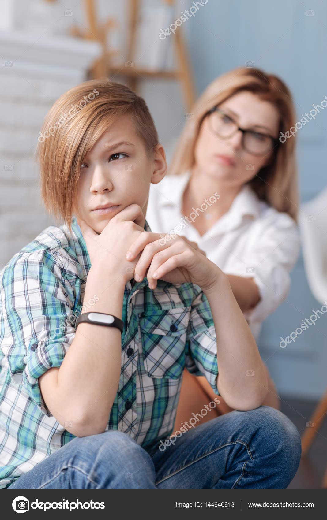 Adolescent garçon a sexe