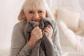 Fotografie Deprimiert unglückliche Versuch, Tränen zu halten