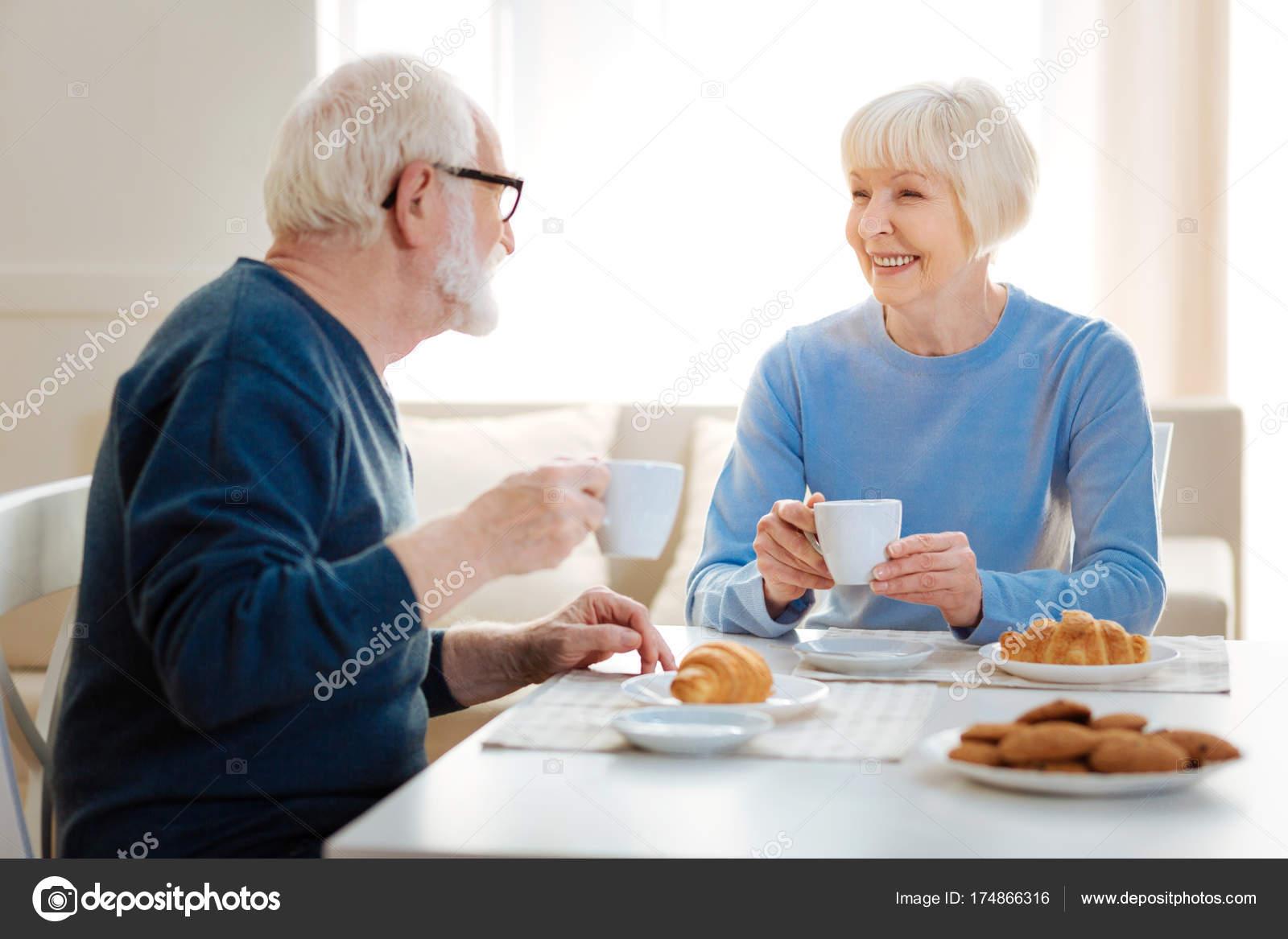 wie man einen älteren Mann erfreut