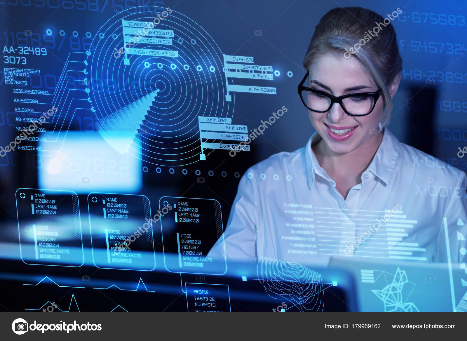 programmer dealing with cyber security stock photo dmyrto z