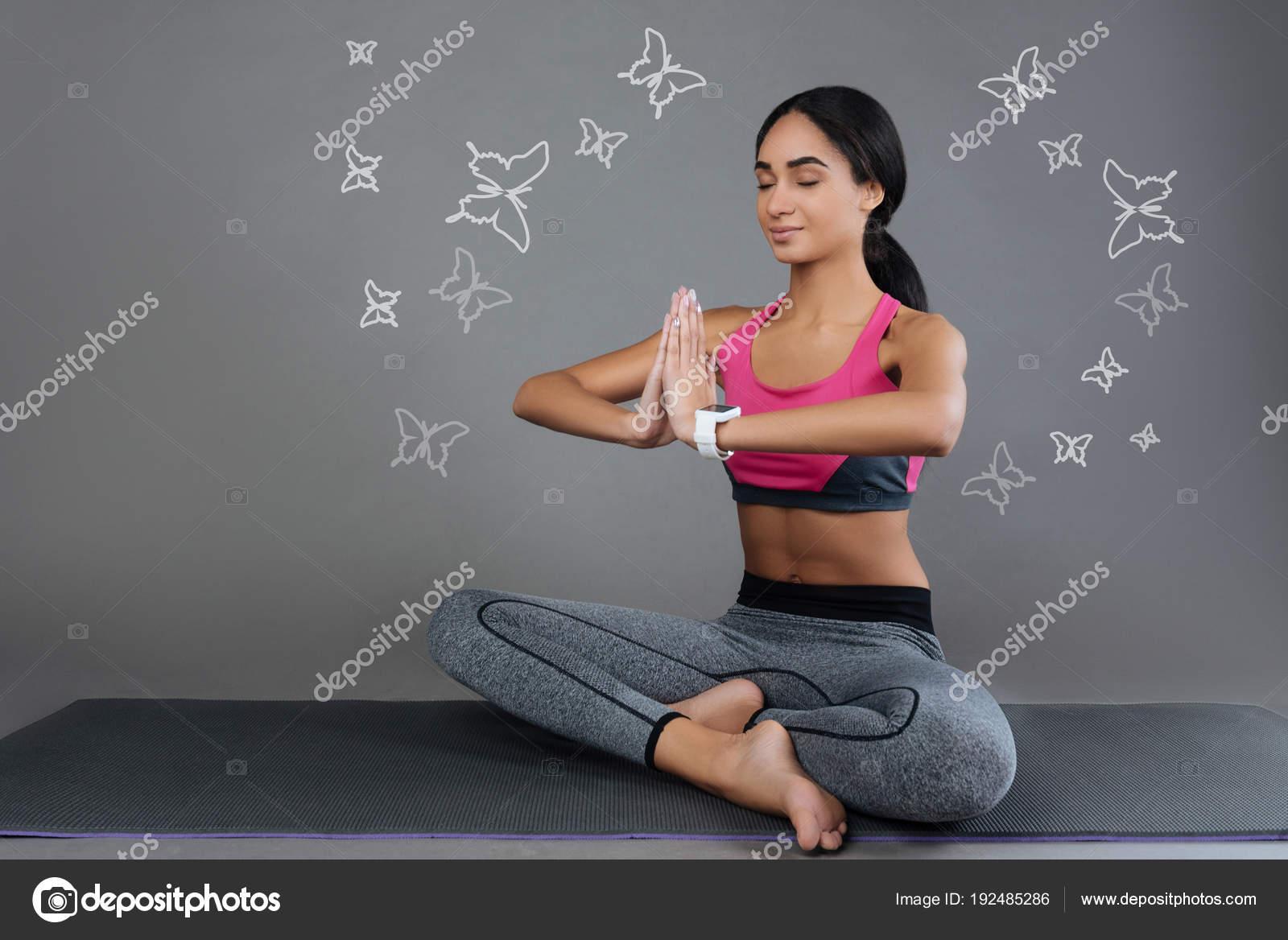 Слюноотделение во время медитации