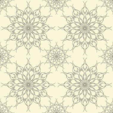 Beautiful ornament seamless pattern