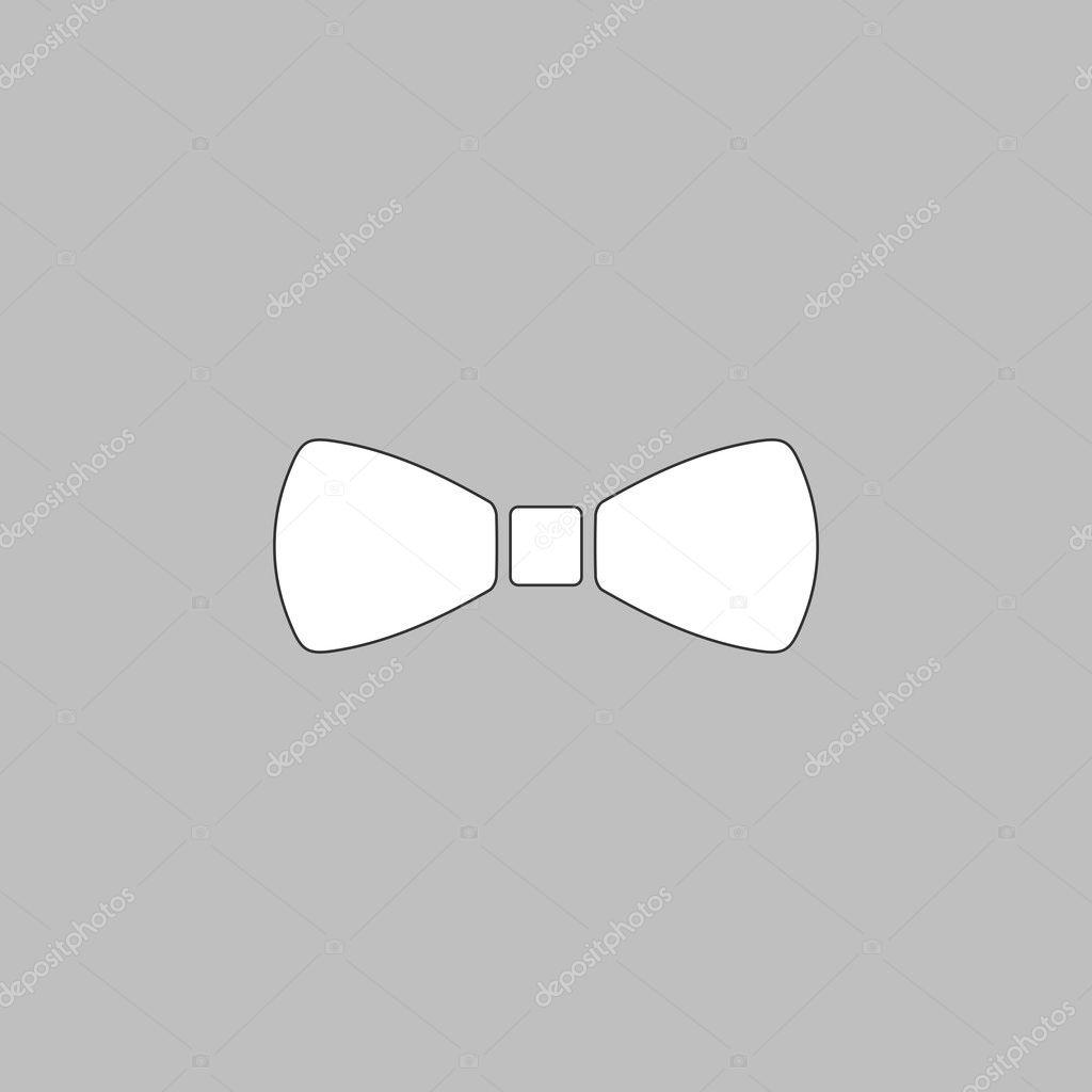 Bow Tie Computer Symbol Stock Vector Burntime555 126553618