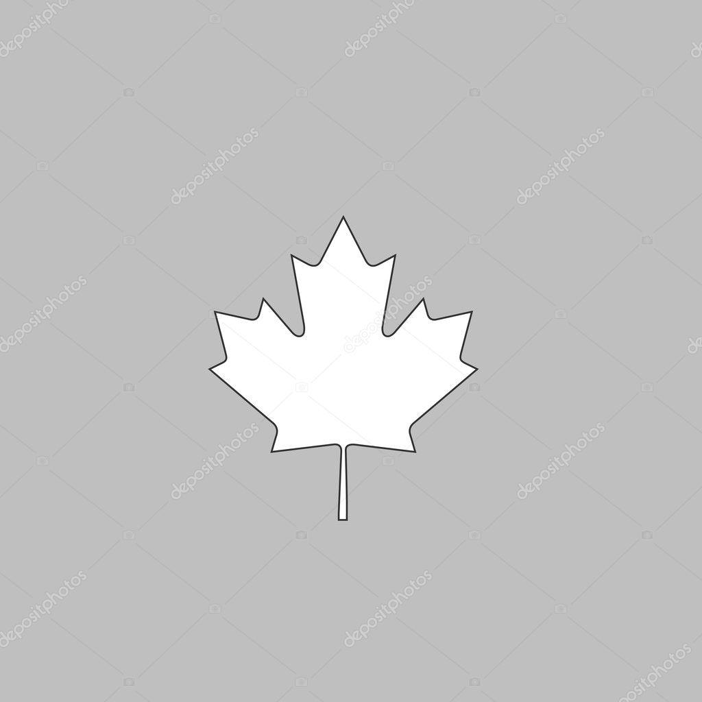 Canadian Leaf computer symbol