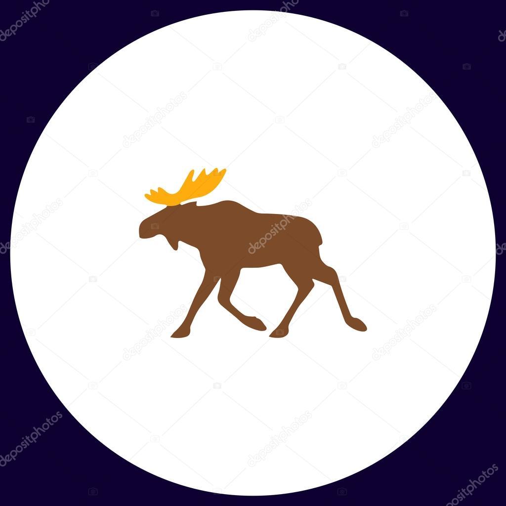 Moose computer symbol