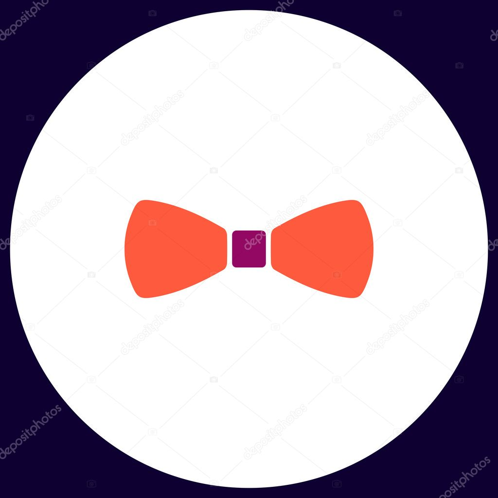 Bow Tie Computer Symbol Stock Vector Burntime555 128120154