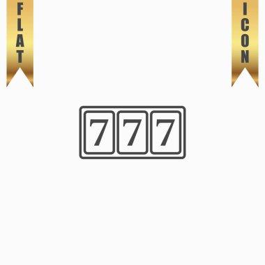 Simple icon 777.