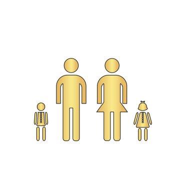 Happy Family computer symbol