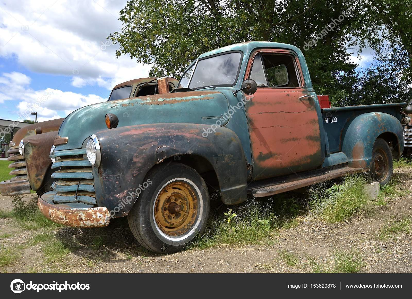Old Chevy pickup full of patina – Stock Editorial Photo © fiskness ...