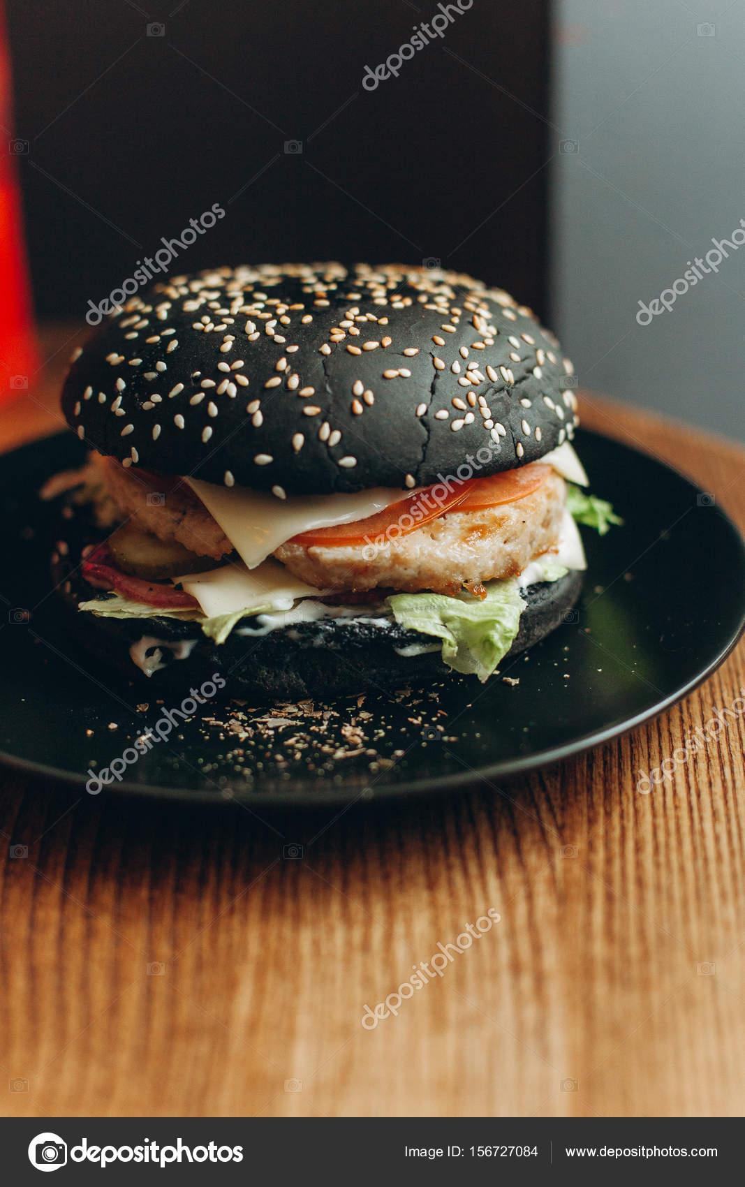 hamburger van gehakt