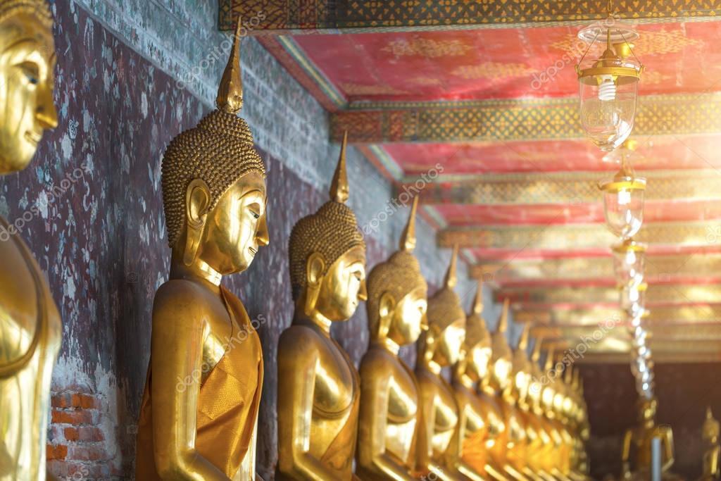 Buddha statue Bangkok Thailand