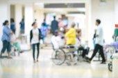 Fotografie Interiér nemocnice abstraktní rozostření pozadí