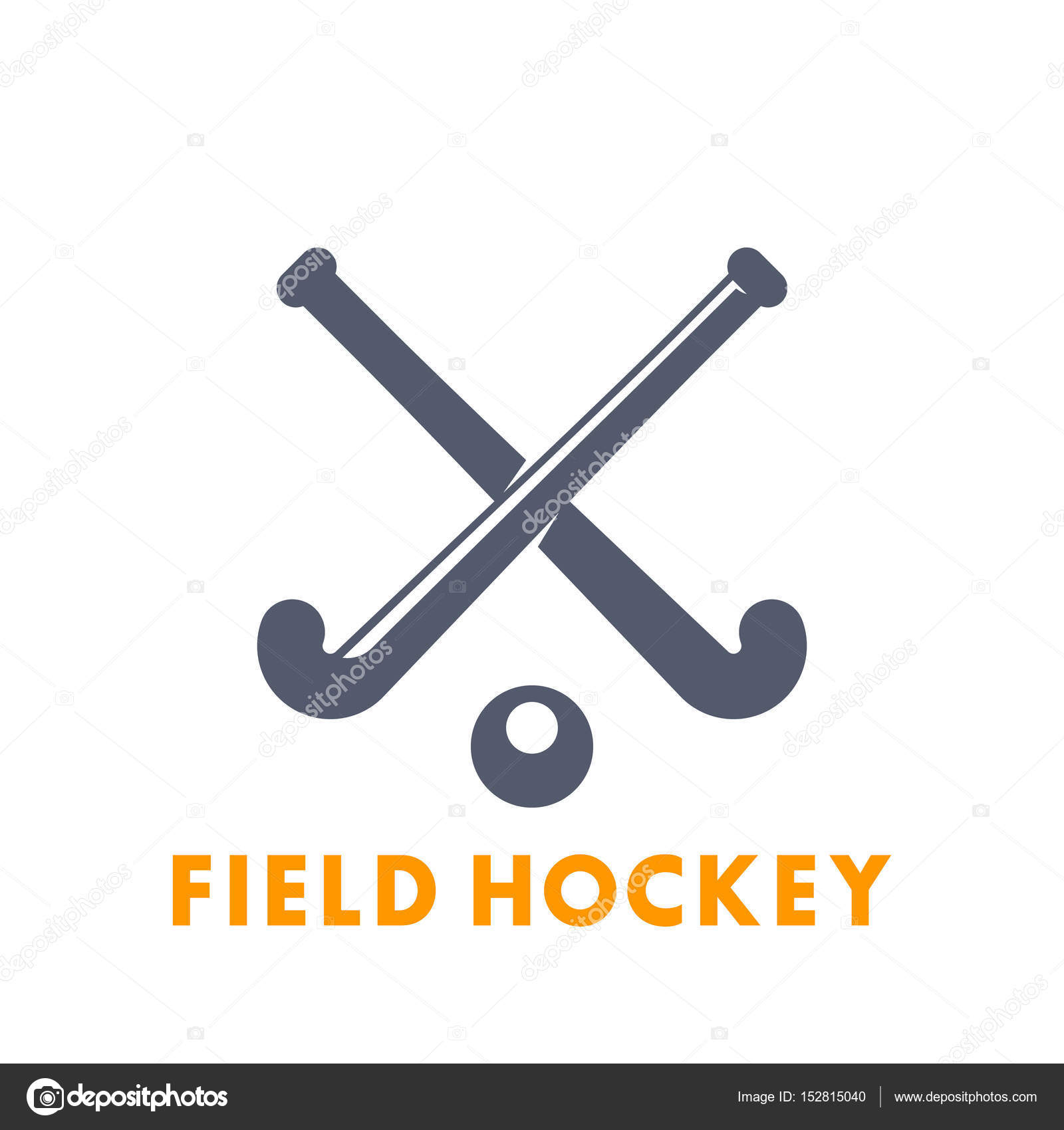 Field hockey icon logo elements over white stock vector field hockey icon logo elements over white stock vector biocorpaavc Image collections