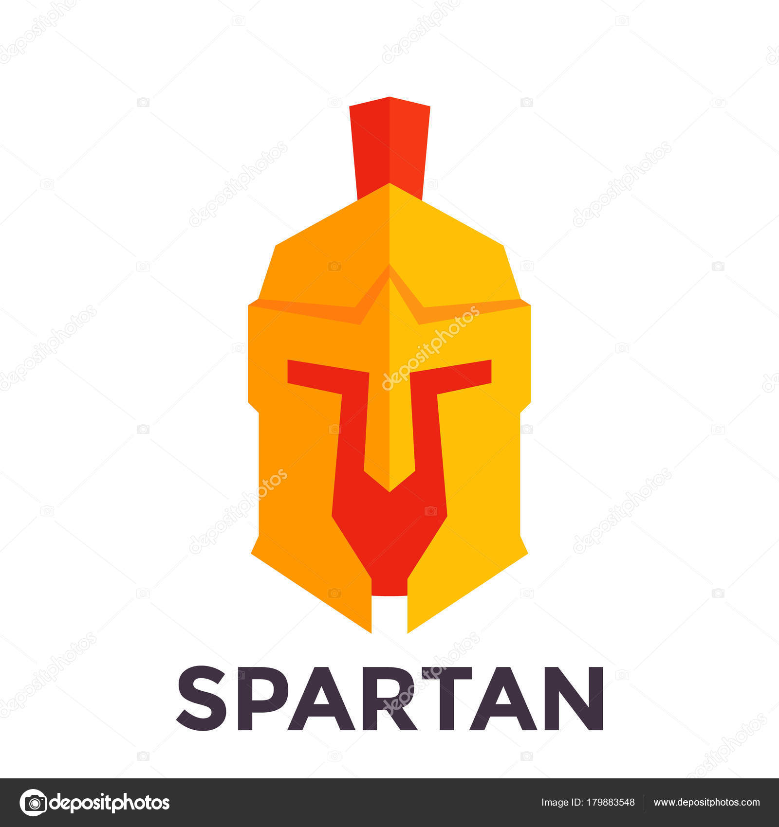 Spartan helmet vector logo template stock vector nexusby spartan helmet vector logo template eps 10 file easy to edit vector by nexusby pronofoot35fo Choice Image