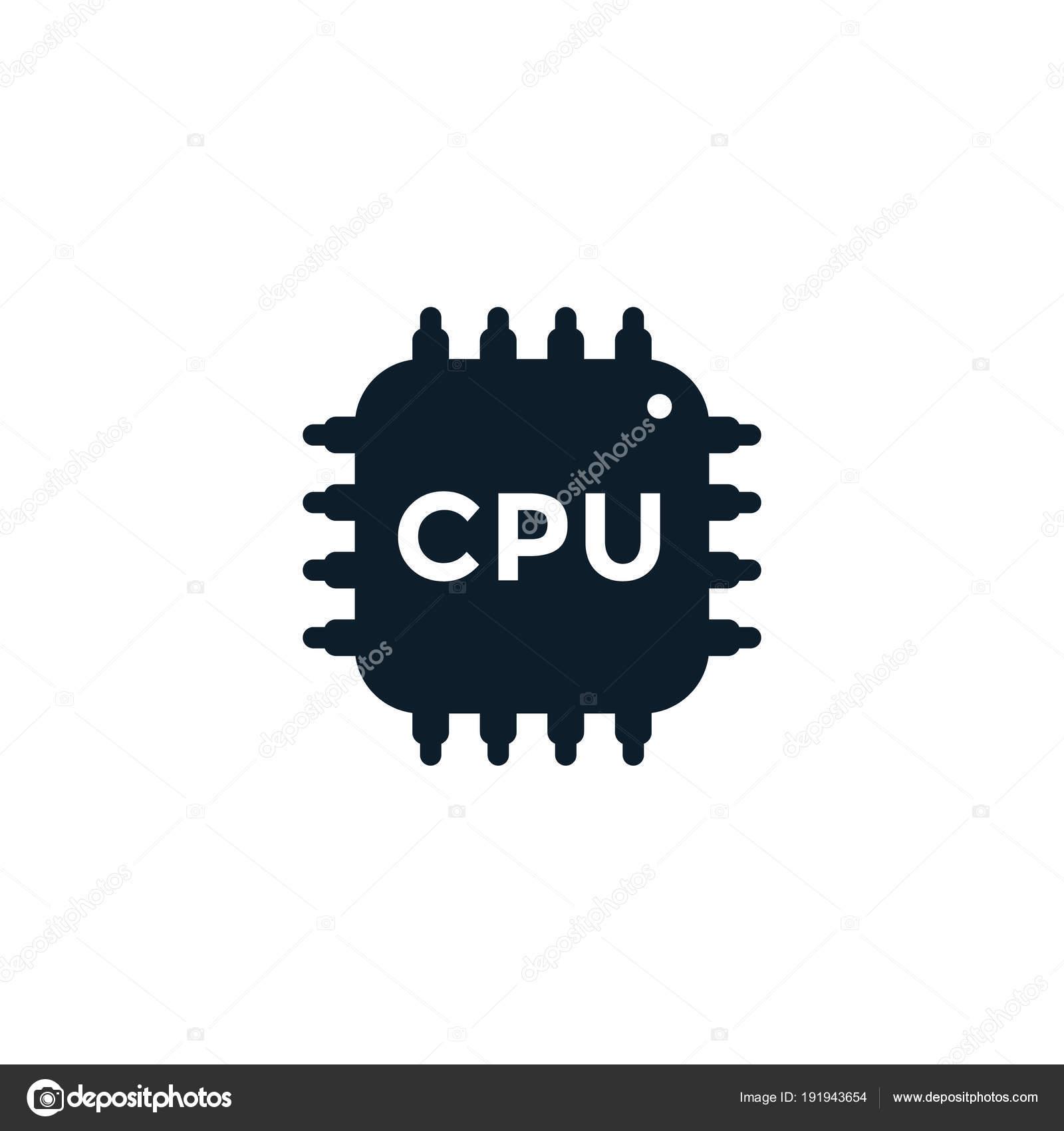 Elektronische Schaltung, Prozessor, Chipsatz, CPU-Symbol ...