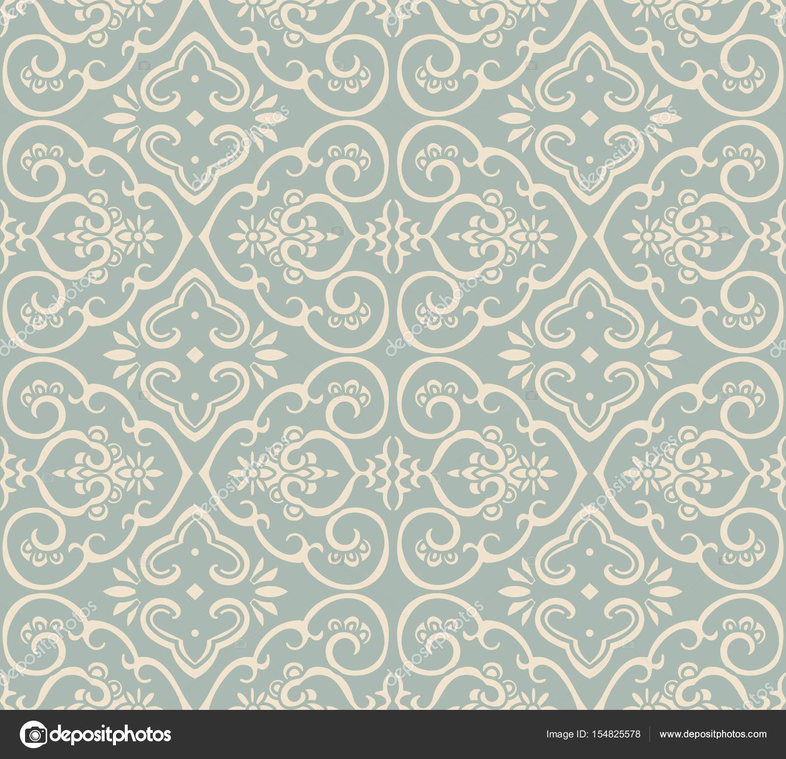 Antike nahtlose Hintergrund Kurve Spirale Kreuz Rahmen Blume ...