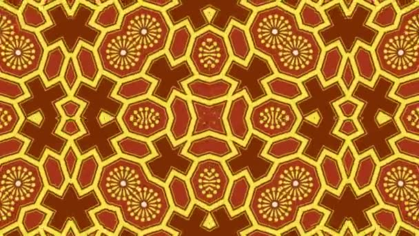 Kaleidoscope seamless loop sequence mandala patterns abstract multicolored motion graphics background. Ideal for yoga, clubs, shows