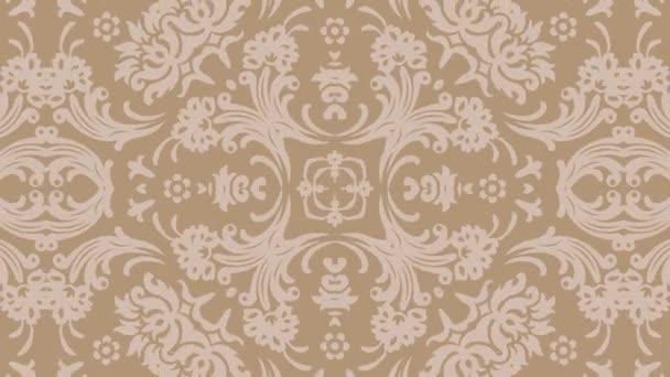 Kaleidoskop bezešvé smyčka sekvence mandala vzory abstraktní vícebarevné pohybu grafiky pozadí. Ideální pro jógu, kluby, ukazuje