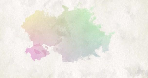 Aquarell bunt Farbverlauf tropfende Tinte Textur Hintergrund