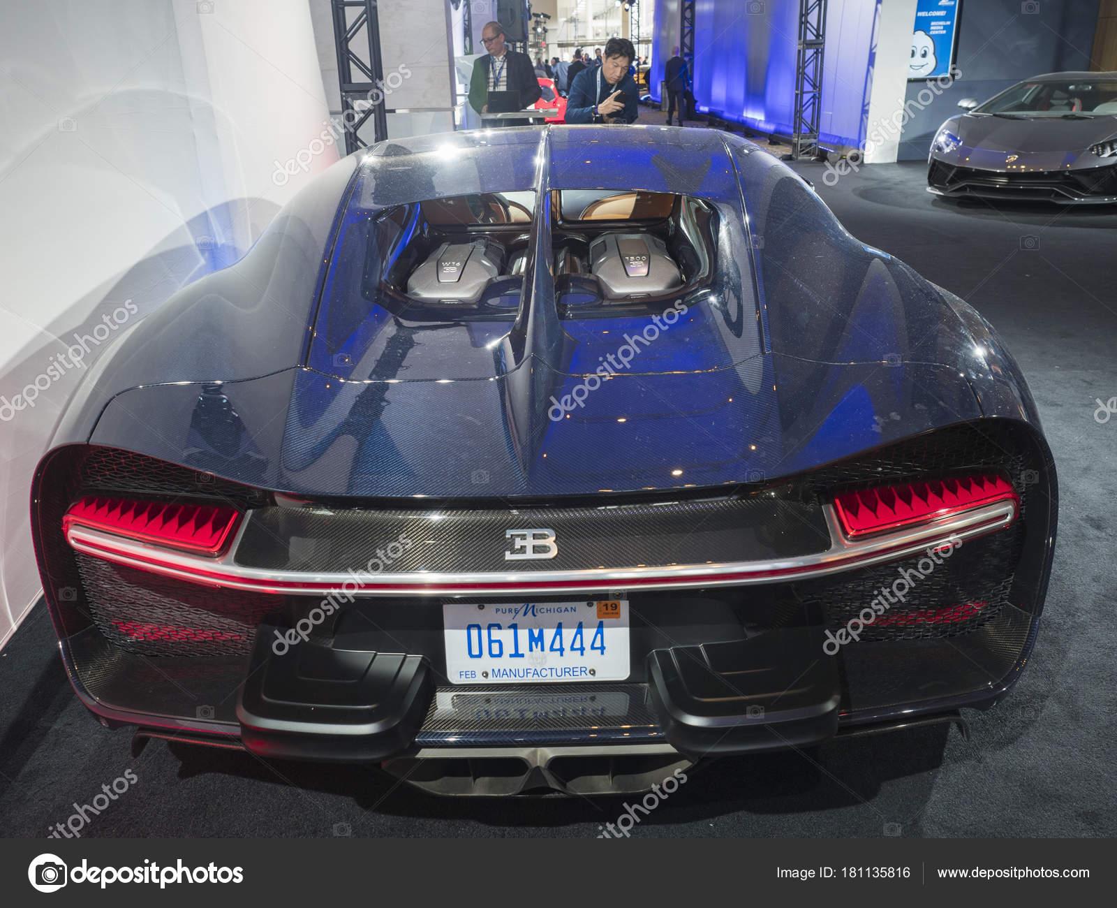 Imagenes Autos Bugatti Detroit Nos Enero 2018 Bugatti Chiron