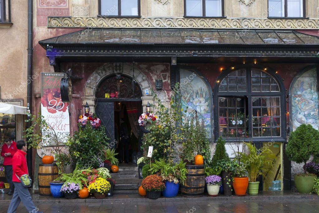 U Fukiera: L'entrée Principale Du Célèbre Restaurant Polonais U
