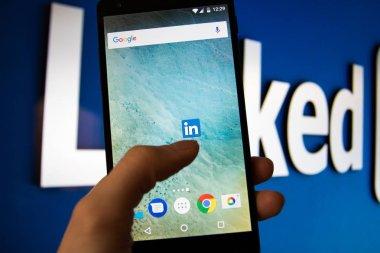 Social networking service LinkedIn