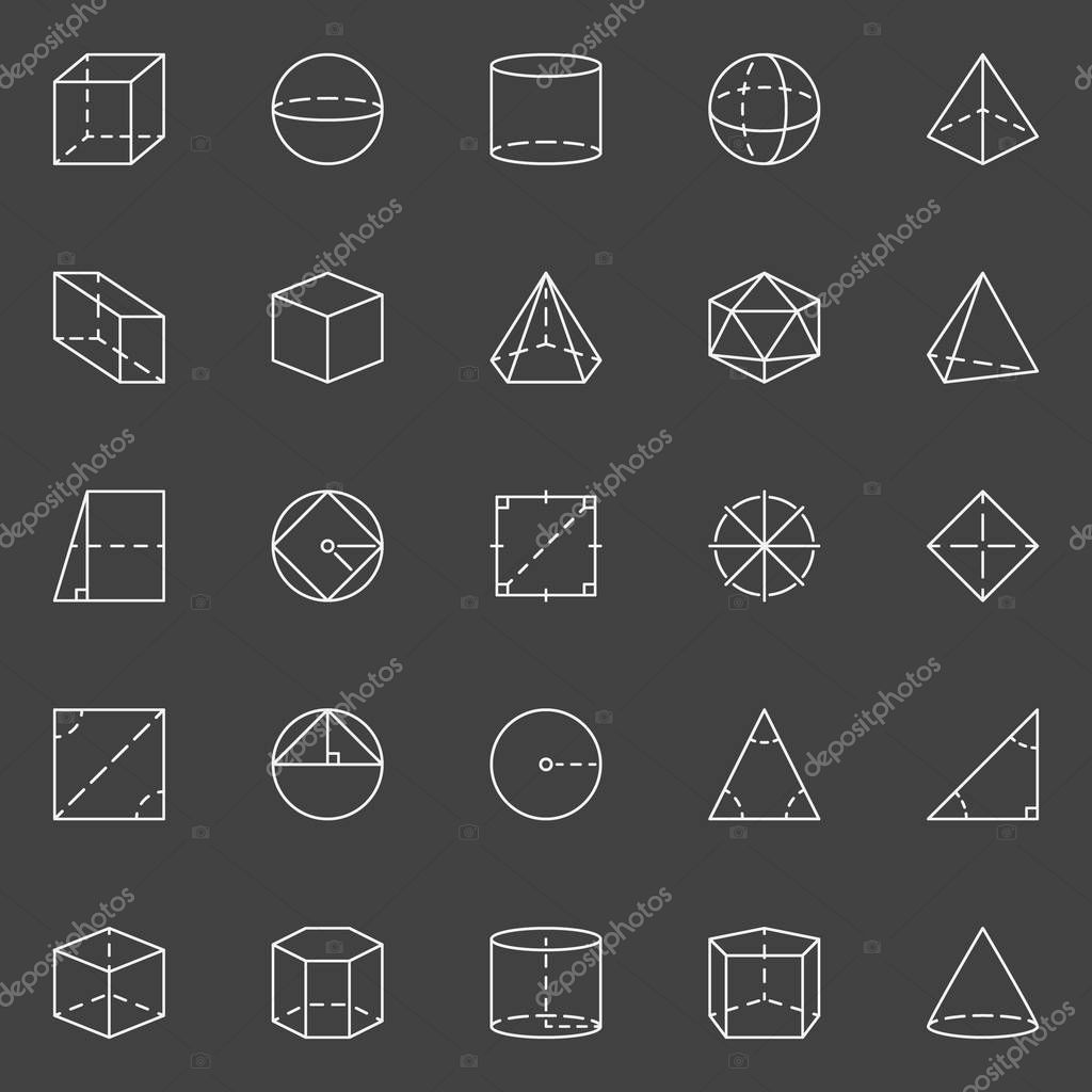 Фото пиктограмм геометрических фигур и их значение