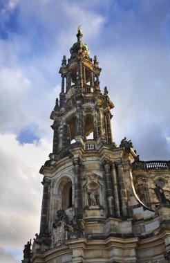 Katholische Hofkirche in Dresden. Germany