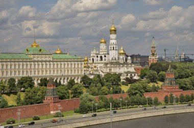 View of Kremlin in Moscow. Russia
