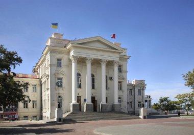 Culture Palace in Sevastopol. Ukraine