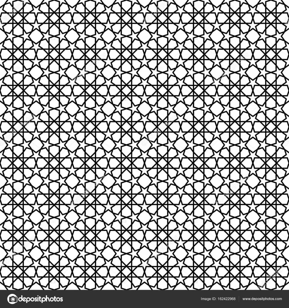 Schwarzer Stern Muster Hintergrund — Stockvektor © thailerderden10 ...