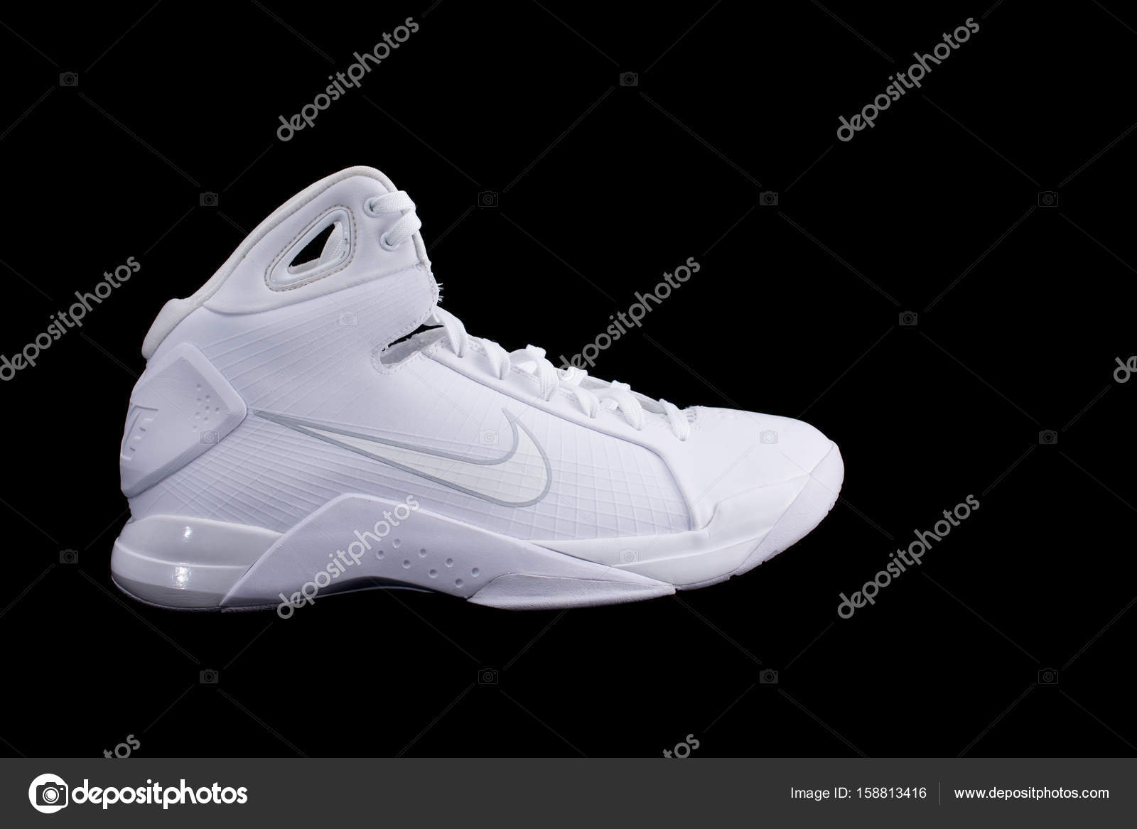 High White Top Shoes Sneakers Nike Basketball Hyperdunk 0EBnqw