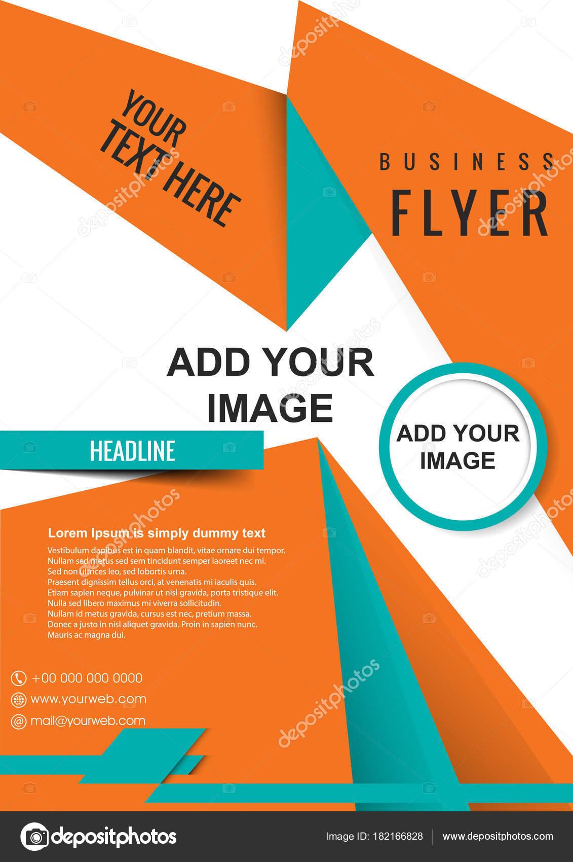 ビジネスのポスター 雑誌の表紙 デザイン レイアウト テンプレートの