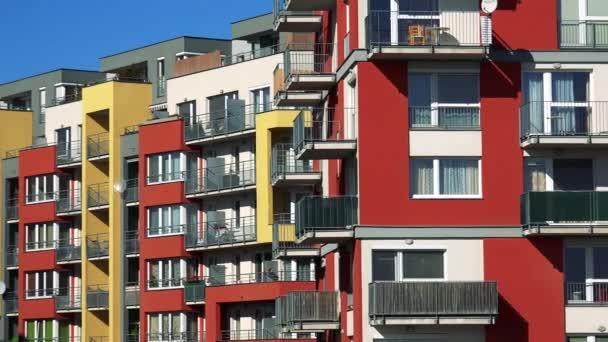 Moderne Hochhaussiedlung