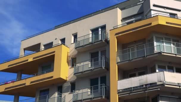 moderní high-vzestup blok bytů