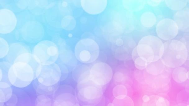 Částice pastelové barvy podnikání čisté lesklé bokeh prach abstraktní pozadí smyčka