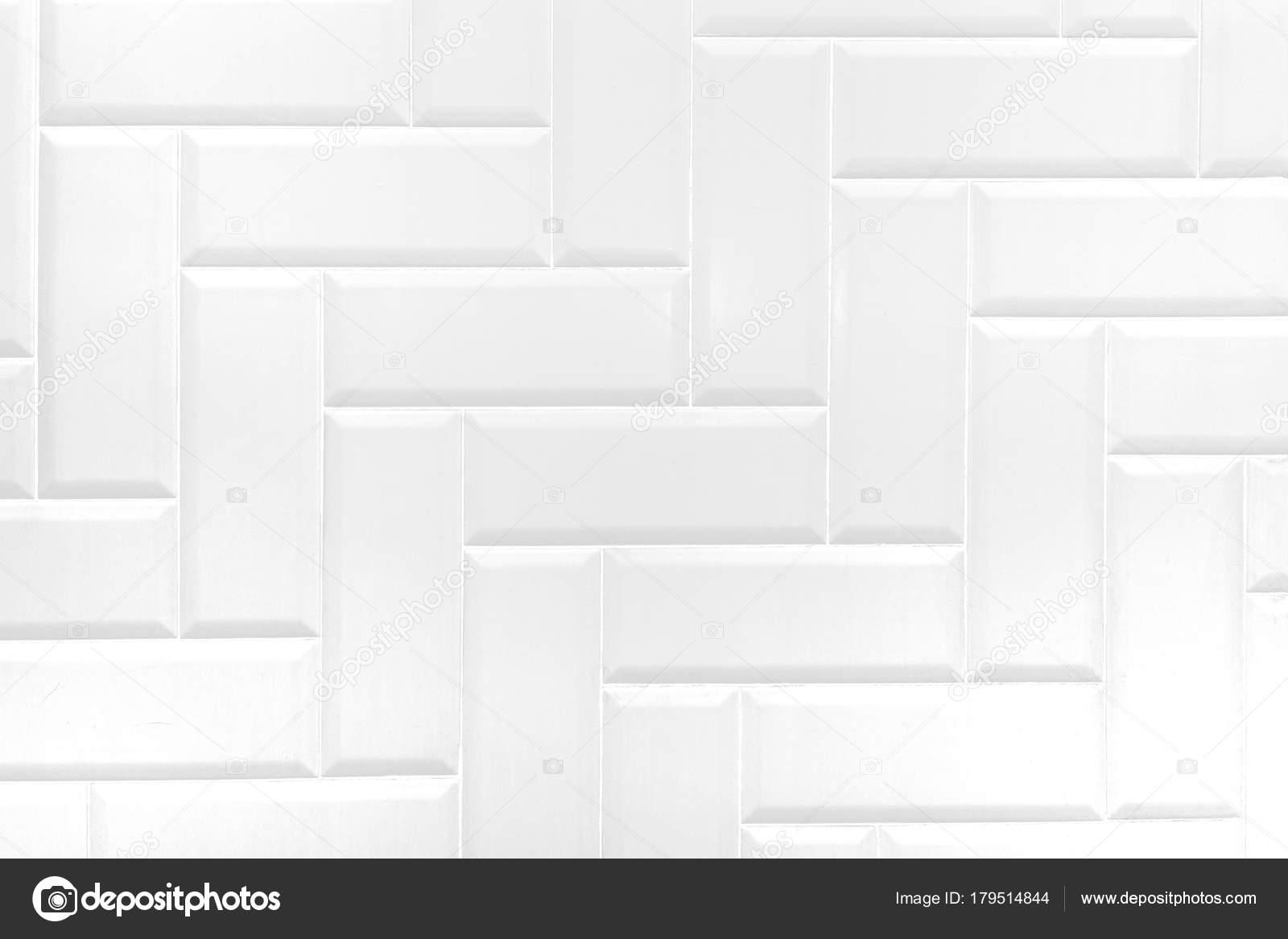 Muro di mattoni in ceramica bianco piastrelle sfondo texture