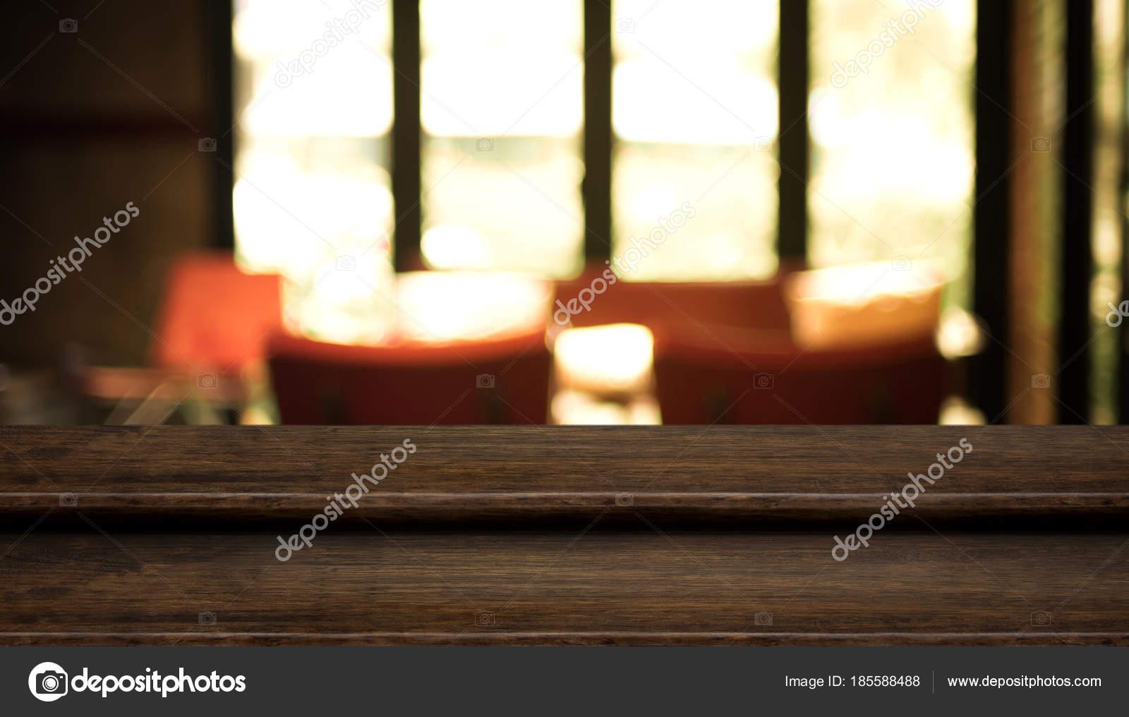 Stand De Restauration Albums De Table En Bois Fonce D Etape