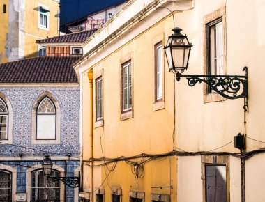 Colorful architecture of streets of Old Town